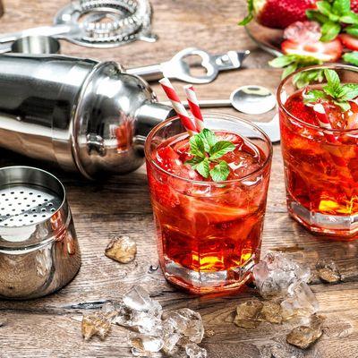 Alkoholfreie Cocktails sind unaufwändig in der Zubereitung.