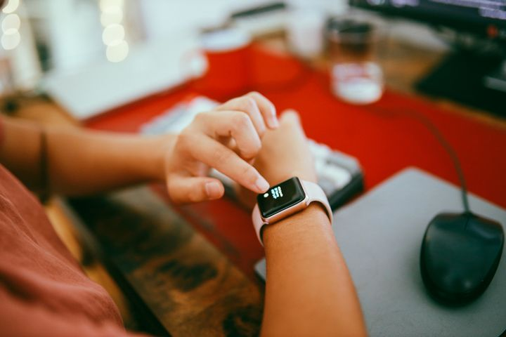 Smartwatch benutzen